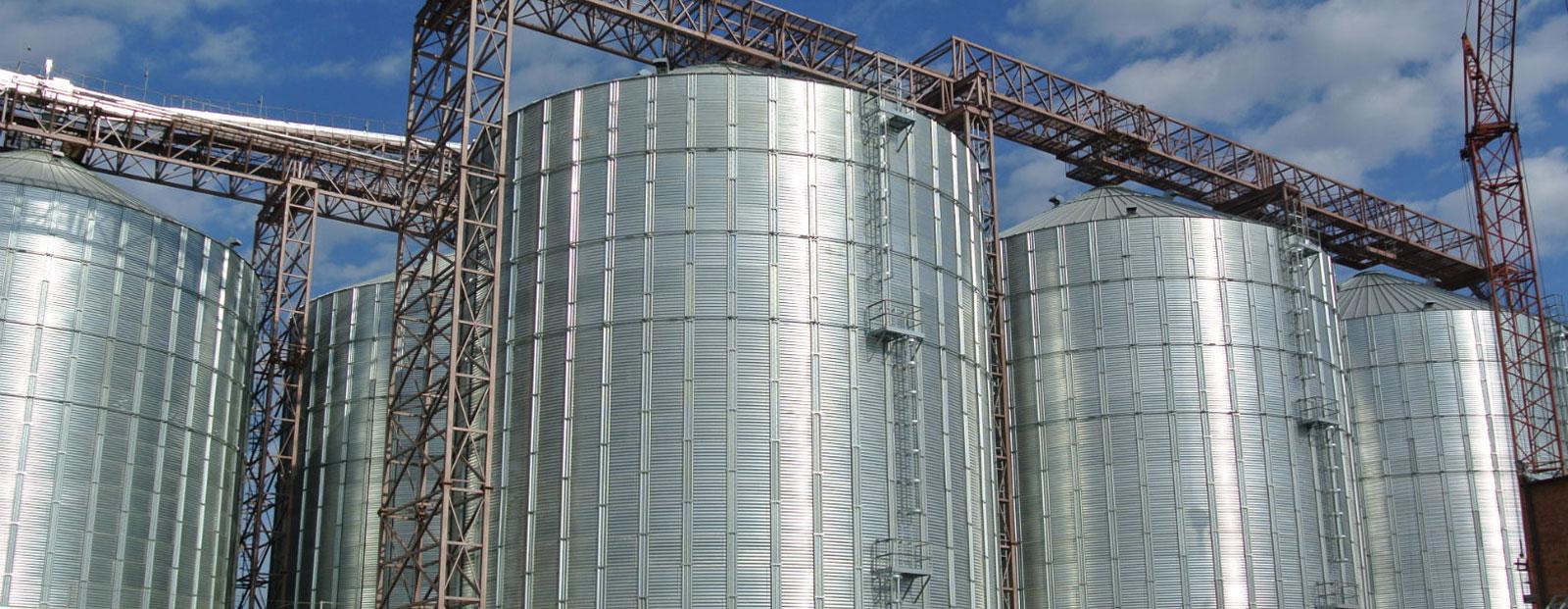 Строительство Перегрузочных Зерновых терминалов и зерновых элеваторов
